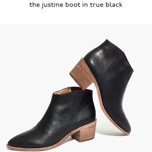 NIB Madewell Justine Boot